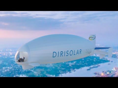DIRISOLAR Solar-powered airship