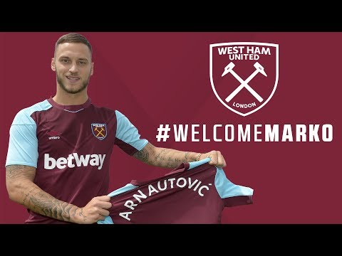 Marko Arnautović Signs for West Ham United!