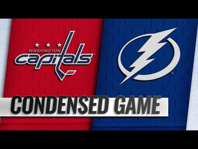 03/16/19 Condensed Game: Capitals @ Lightning