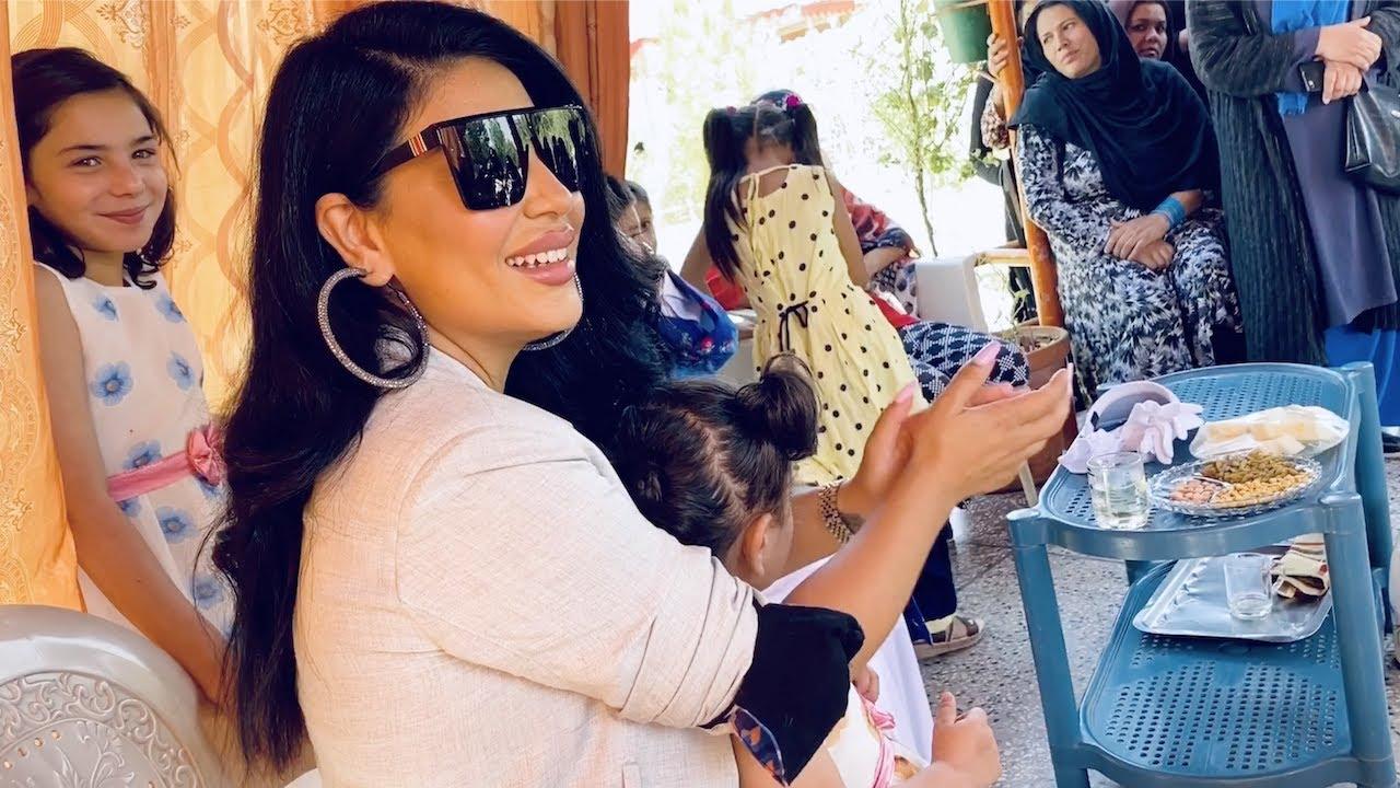 Aryana Sayeed at Shamsa Children's Village/Orphanage | دیدار آریانا سعید با اطفال قریه/پرورشگاه شمسه
