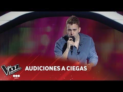 """Matías Ezequiel Alvarez - """"Digale"""" - Gustavo Santander- Audiciones a ciegas - La Voz Argentina 2018"""