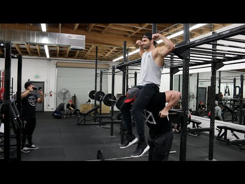 Mike (Dom Mazzetti) - Chest Workout With Bradley Martyn