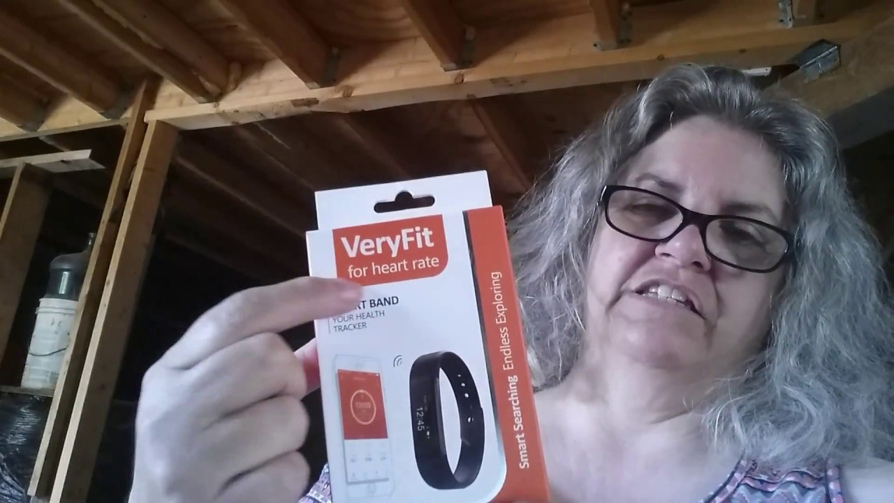 VeryFit smart band health fitness tracker review