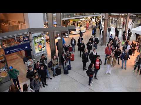 Deutsche Bahn Flashmob - Mano Ezoh (The Guardians) Legend was Born / Fly