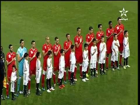 Hymne National au Grand stade de Tanger - Maroc vs Nigéria