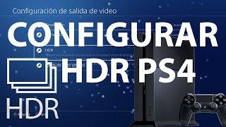 Como Configurar HDR PS4 - Tutorial PS4