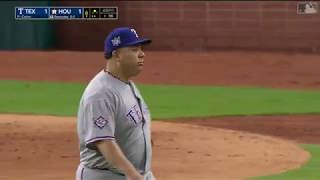 Bartolo Colón coqueteó con juego perfecto en Houston