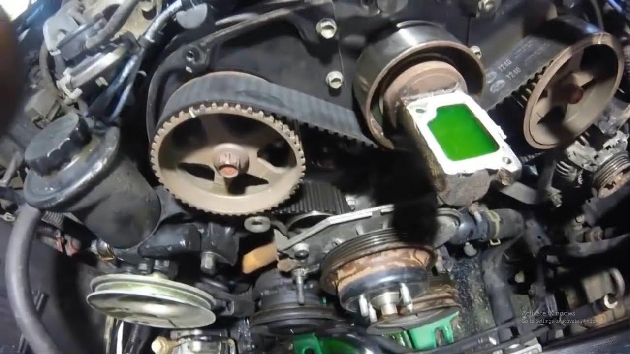 Toyota 3.0 3VZE Timing Belt Installation How TO - YouTubeYouTube
