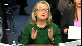 Emotional Hillary Clinton on Benghazi terror attack deaths