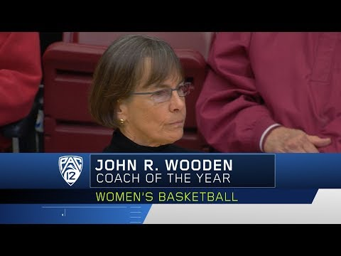 Stanford's Tara VanDerveer named the John R. Wooden Coach of the Year