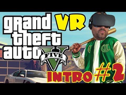 GTA V EN REALIDAD VIRTUAL #2   Introduccion a Franklin - Oculus Rift CV1