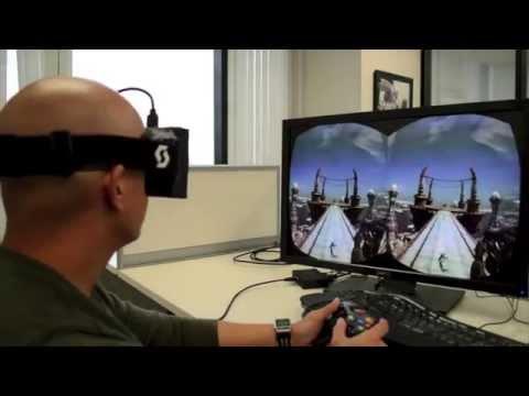 Oculus Rift La increíble realidad virtual que vendrá junto al Xbox One