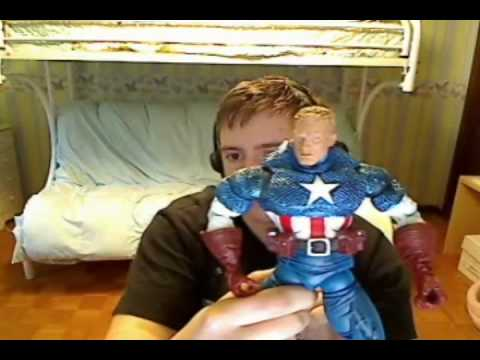 Captain America - Steve Rogers Variant - Marvel Legends Icons Series