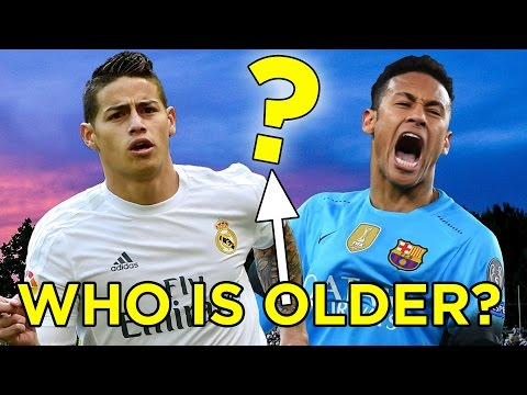 Thumbnail: Can You Guess Which Footballer Is Older?