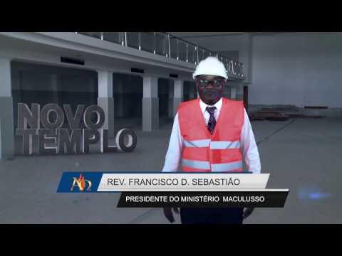 Visita nova Sede no Talatona  com  Rev Francisco D. Sebastião