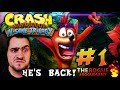 Crash Bandicoot N. Sane Trilogy (ps4) Gameplay Part #1 - The 90s Are Back!!