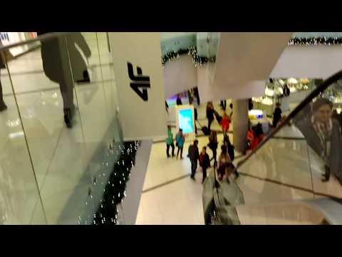 Shopping mall in katowice Poland
