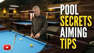 Pool Secrets - How to Aim when Using Spin featuring Ray Martin