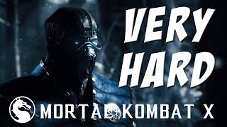 Mortal Kombat X - Sub-Zero (Grandmaster) - Klassic Tower on Very Hard - NO MATCHES LOST!