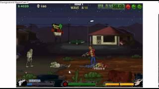 Test jeu flash: Tequila Zombie + présentation de la chaîne