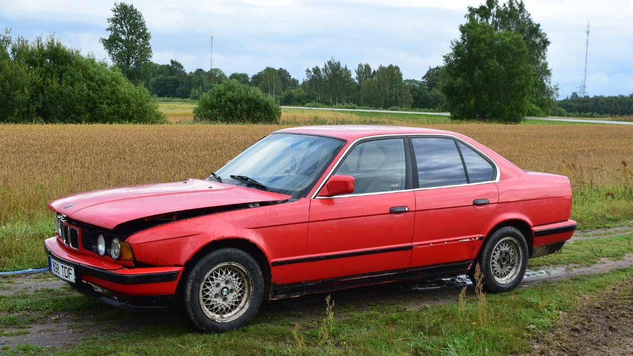 Bought 1990 Bmw E34 525i 1080p Youtube