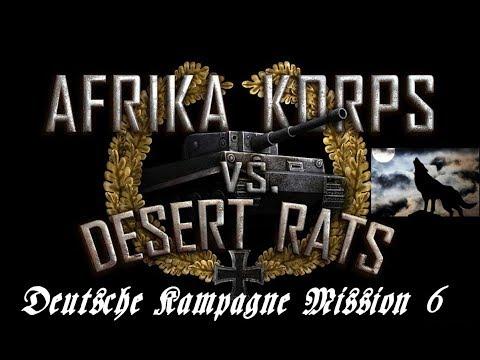 Afrika Korps vs Desert Rats Deutsche Kampagne Mission 6