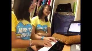 [COVER] Ngày Anh Xa (Miu Lê) - Piano/Singing Cover by Phương & Ellen