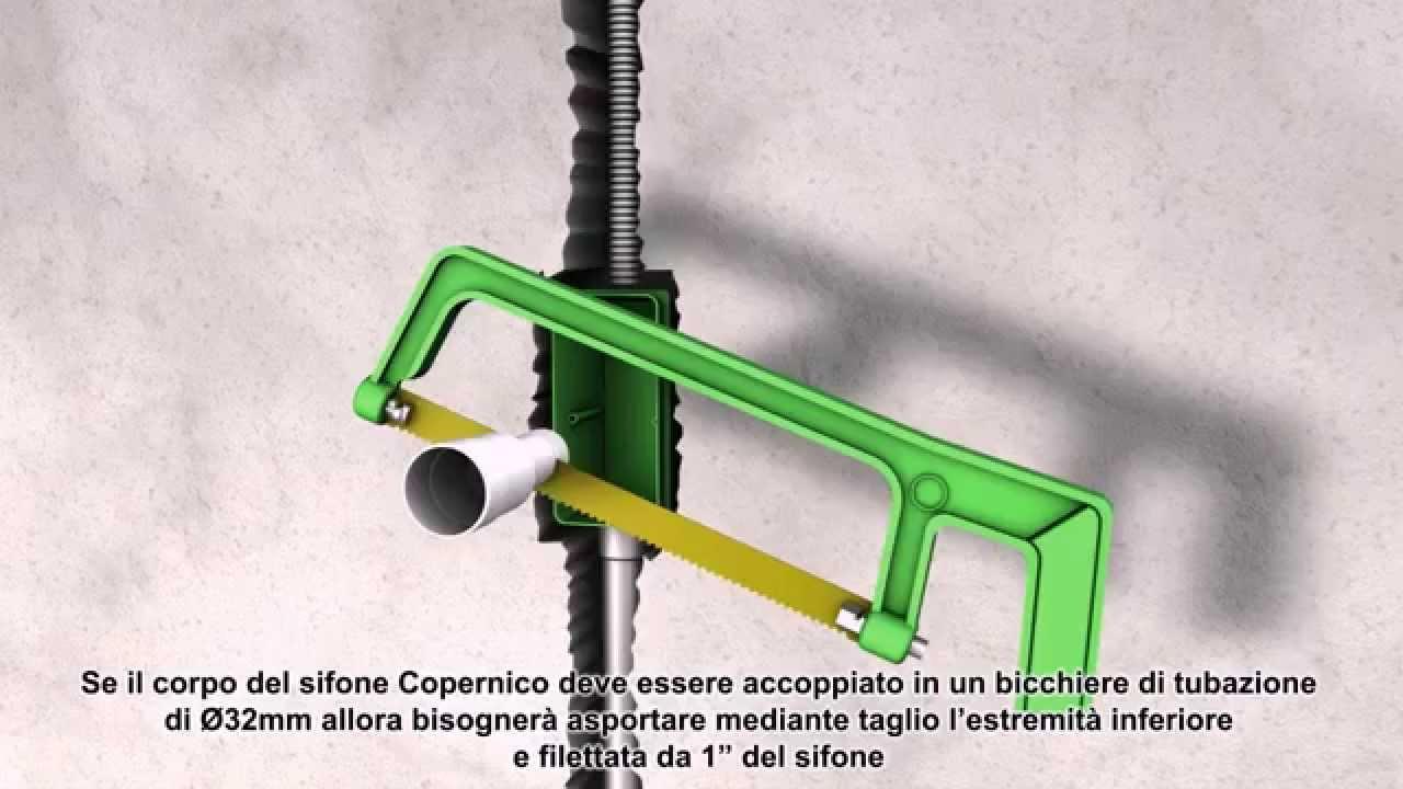 """Come Si Monta Un Sifone bonomini srl : istruzioni montaggio del """"copernico"""" sifone a secco per  condensa"""