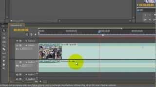 Activer / Désactiver la bande son dans Adobe Premiere Pro