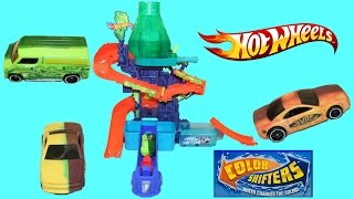 Hot Wheels Color Splash Science Lab Color Shifters Play Doh Chocolate Surprise Egg Color Change