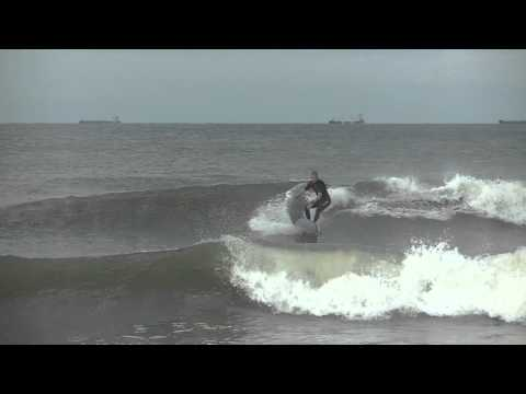 Fall and Rise: Surfing Lido Beach Summer 2015