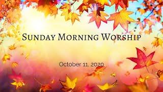 Sunday, October 11, 2020