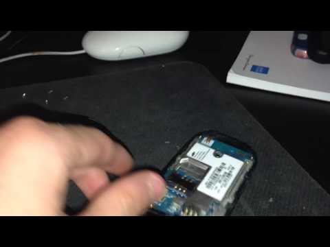 Taking apart Samsung SGH-A107