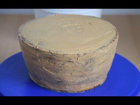 Масляный крем под МАСТИКУ со сгущенкой | Крем для прослойки тортов