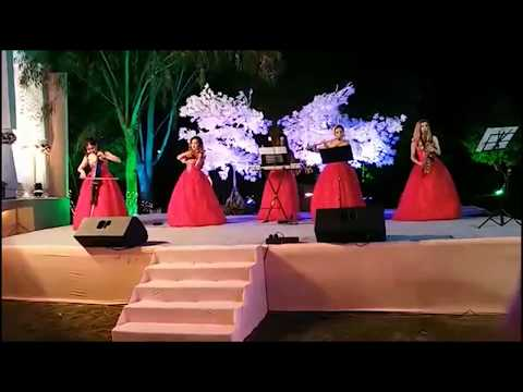 Wedding Reception | Live Symphony Band | Udaipur | Angel's Creations