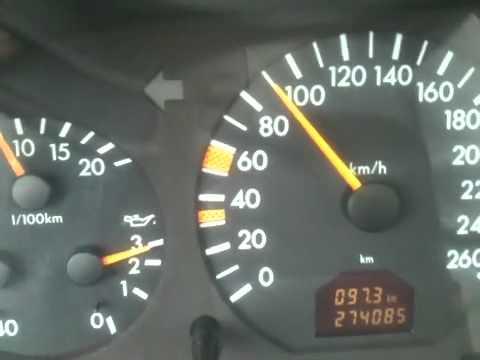 W140 расход топлива