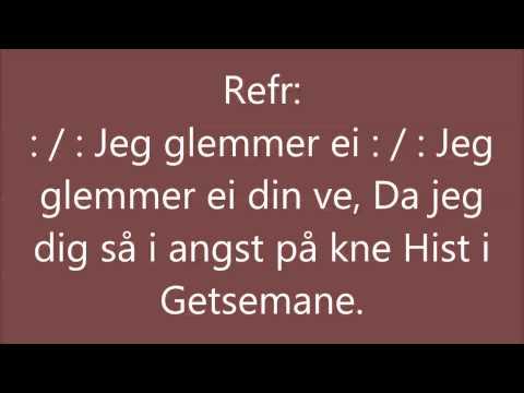 Salme fra Tromsdalen kirke: Hin time i Getsemane