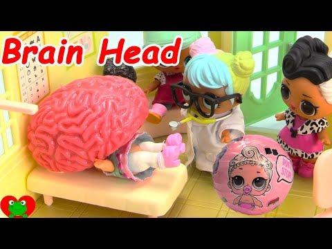 LOL Surprise Doll Doctor's Visit Brain Head