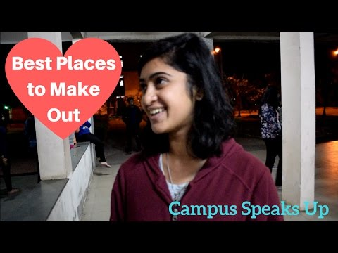 Best Places to MakeOut in the Campus!