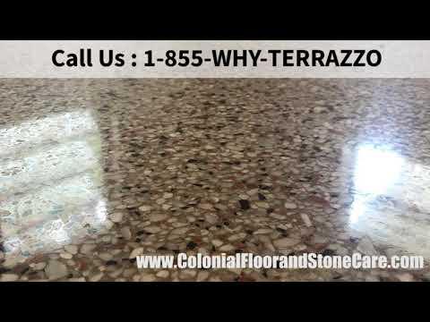 How to Polish Terrazzo Floors in West Palm Beach