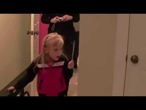 Her Own Gymnastics Room Wait Till The End 😂