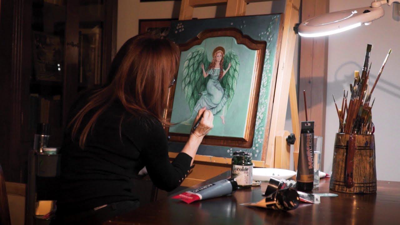 Znalezione obrazy dla zapytania: anioly Iwony Laszczyk