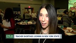 Teacher shortage looming in NYS