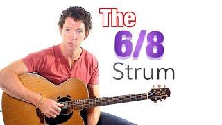Beginner Strumming Pattern 3 - 6/8 Strum Guitar Lesson with Mark McKenzie