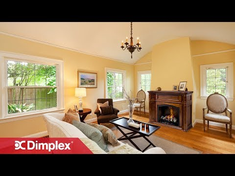 What Does the Opti-myst Flame Look Like? | Dimplex