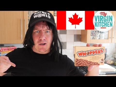 TASTING SOME CANADIAN TREATS