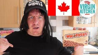 TASTING SOME CANADIAN TREATS