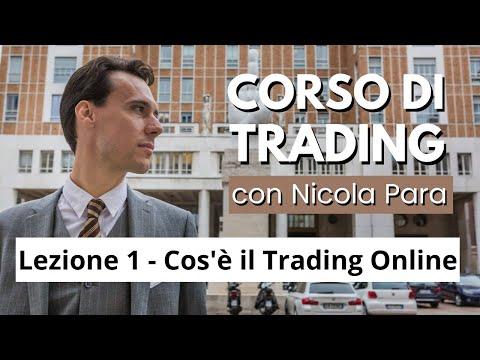 Cos'è il Trading Online - Lezione 1 - Corso completo di Trading Online con Nicola Para