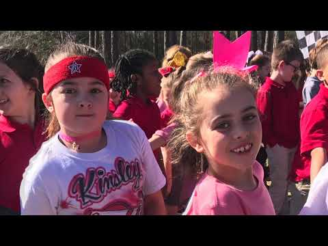 Saraland Elementary School  Fun Run 2019