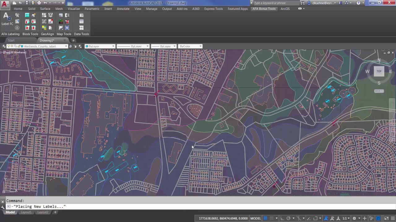 What's New In ArcGIS for AutoCAD 365